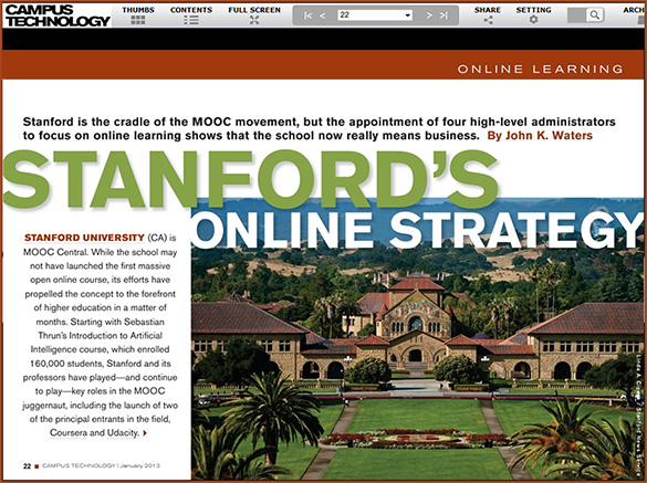 StanfordsOnlineStrategy-CampusTechMag-Jan2013