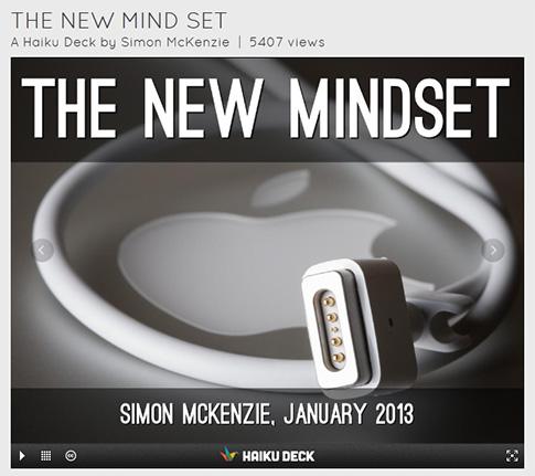 TheNewMindset-SimonMcKenzie-Jan2013