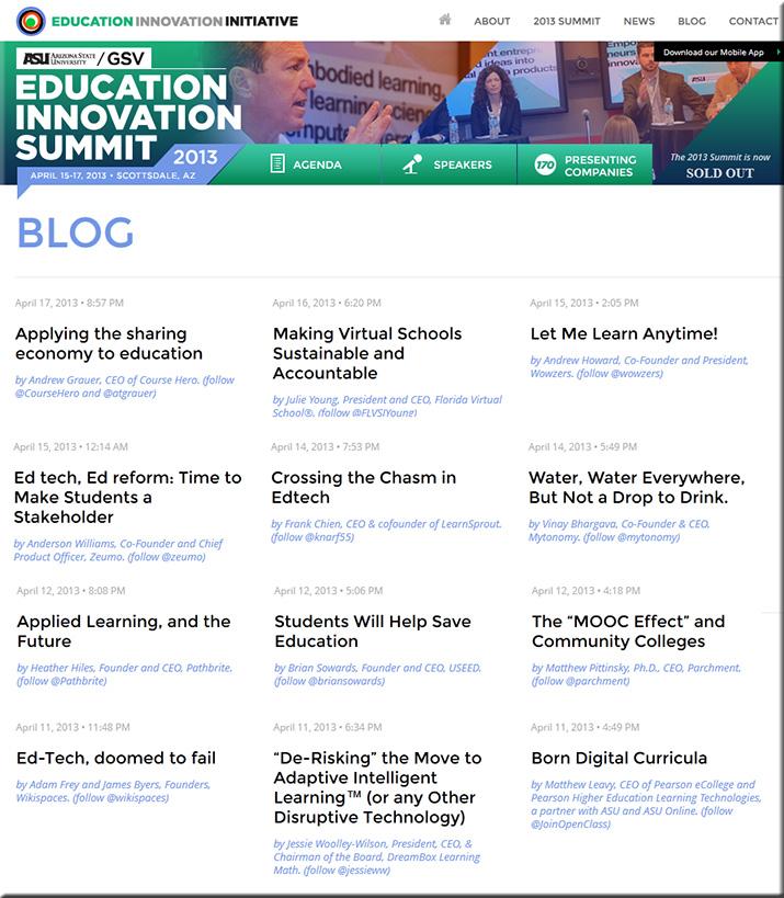 EducationInnovationSummit2013