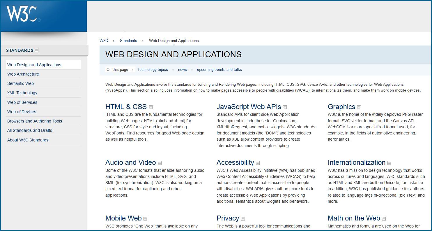 W3C-WebDesignMarch2014
