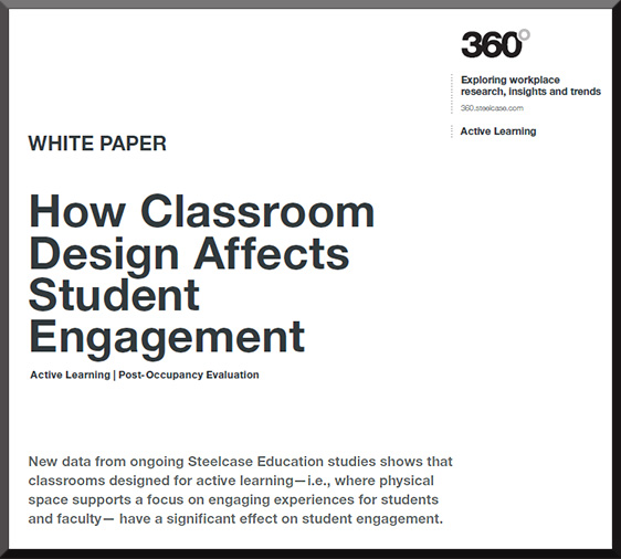 How Classroom Design Affects Learning ~ From steelcase how classroom design affects student
