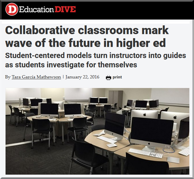 CollabClassrmsMarkFutureHigherEd-EdDive-1-22-16