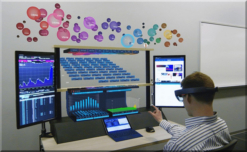 Holographic Workstation uses Microsoft HoloLens to create 3D