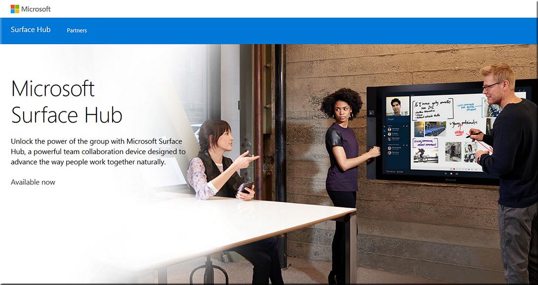 MicrosoftSurfaceHubNowShipping-3-31-16