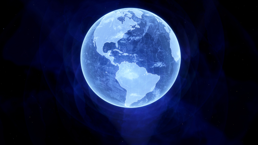 hologram-earth
