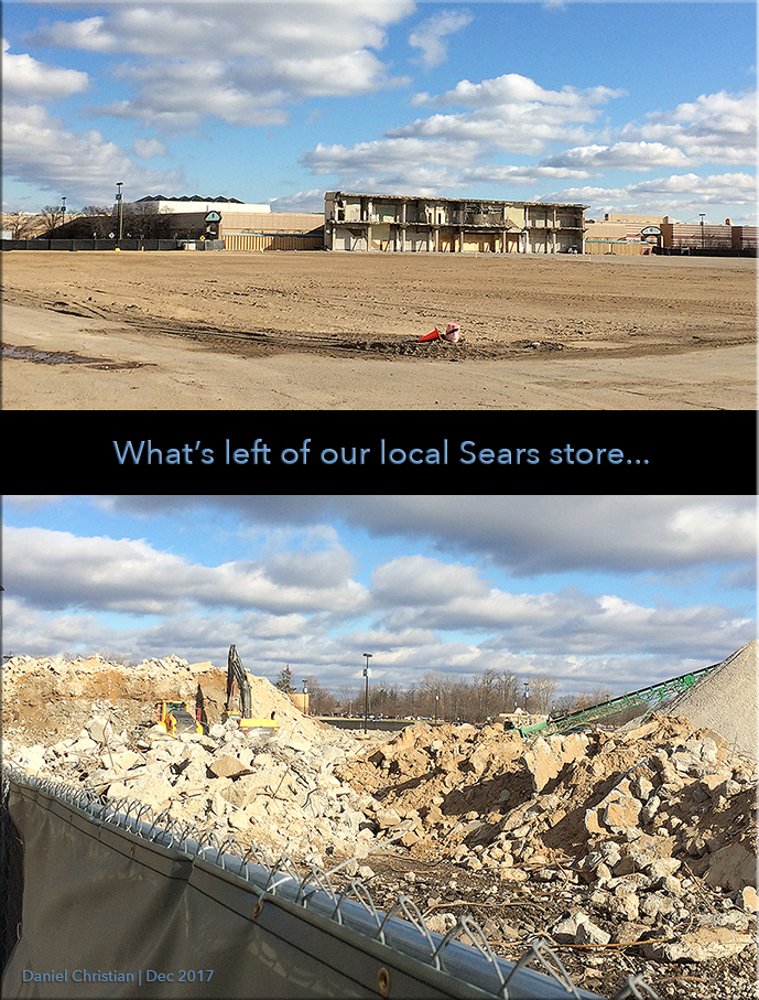 This is what our local Sears store looks like today