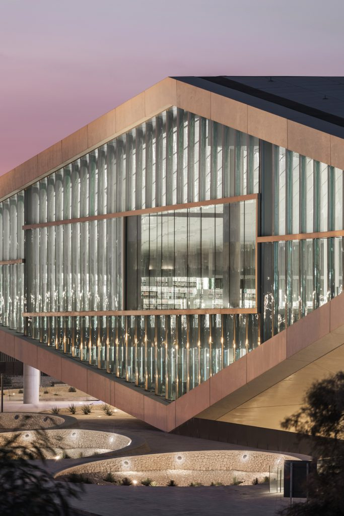 Fantastic work from OMA on the Qatar National Library in Doha!