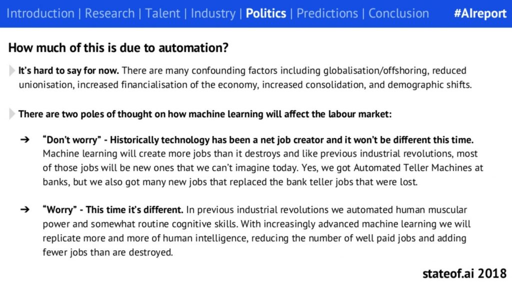 hard to say how AI is impacting jobs yet -- but here are 2 perspectives