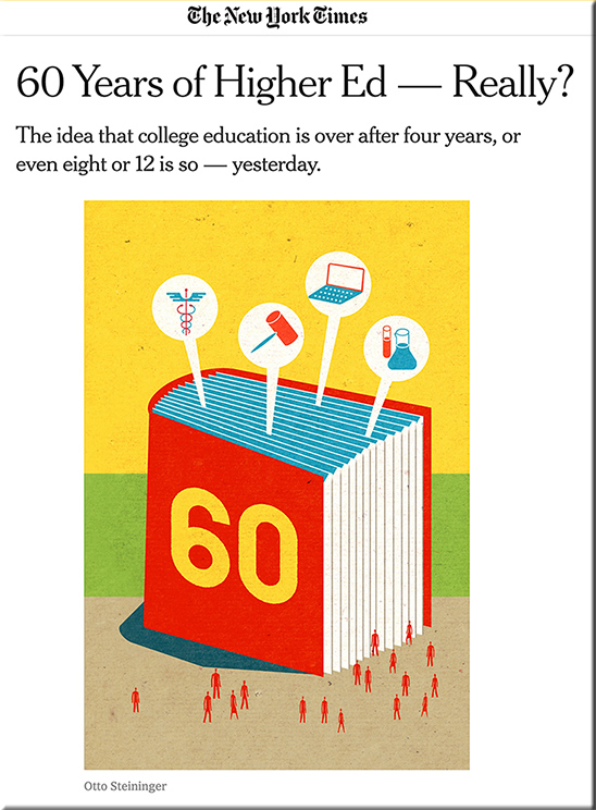 60 years of higher ed --really?