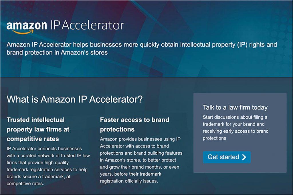Amazon's new IP Accelerator program -- October 2019
