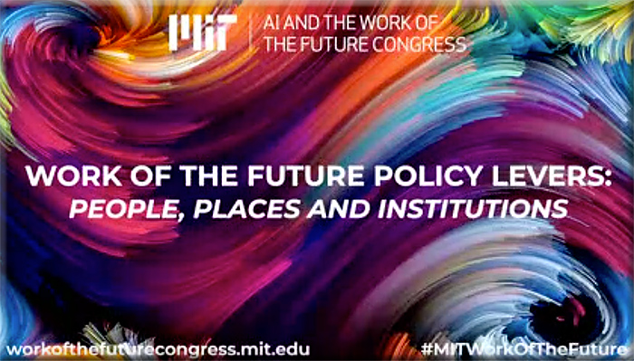 The future of work -- recording of event at MIT