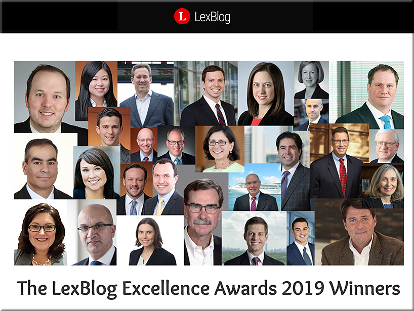 The LexBlog Excellence Awards 2019 Winners