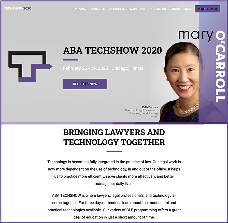 The 2020 ABA Techshow