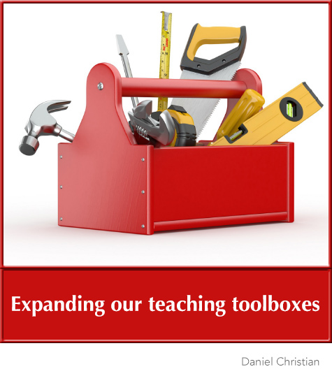 Expanding our teaching toolboxes