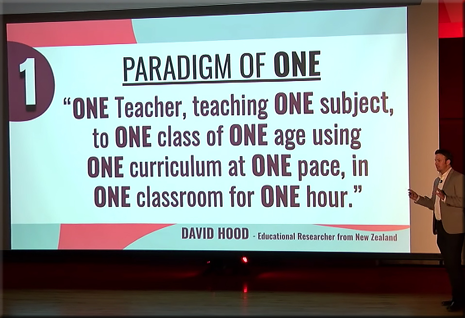 The paradigm of one -- as described by Cory Henwood