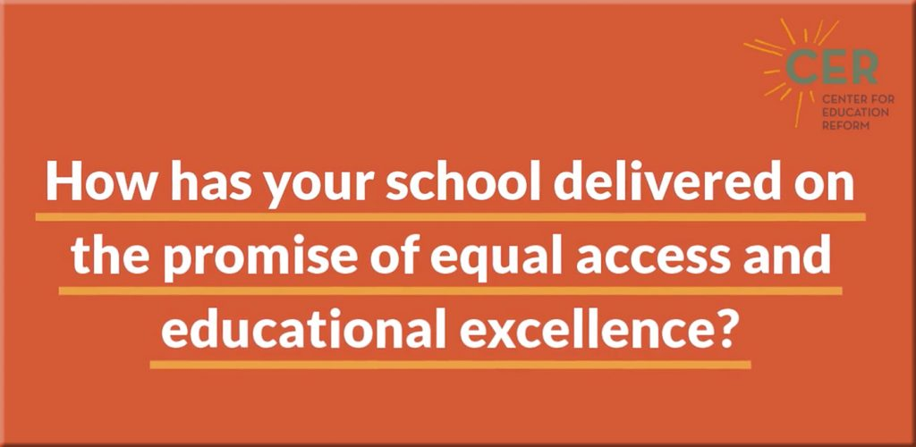 """How has your school delivered on the promise of equal access and educational excellence, particularly during these challenging times?"""