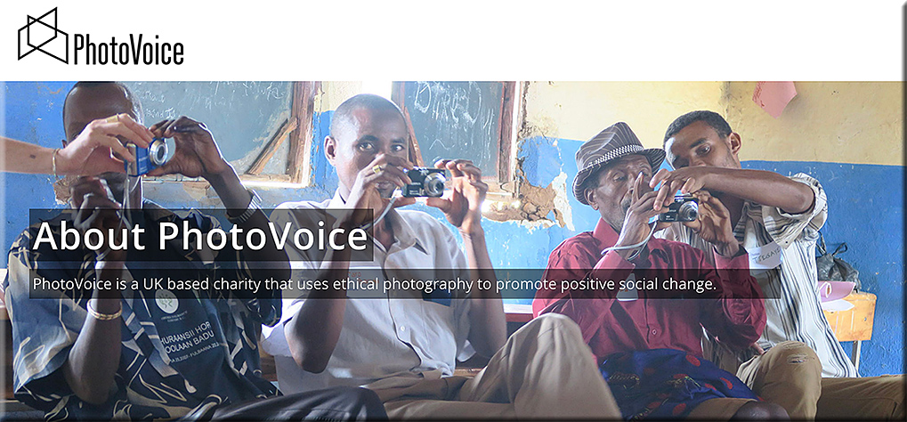PhotoVoice -- using photography to tell one's story