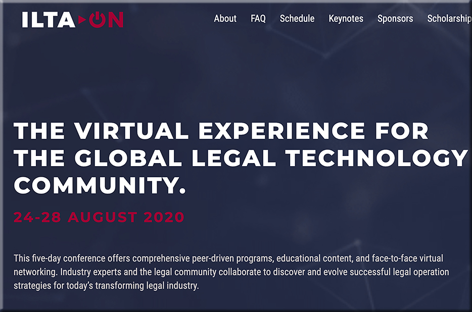 ILTA > ON Legal Tech Conference