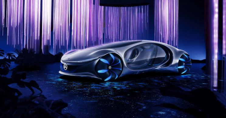 Mercedes-Benz Shares Video of Avatar Electric Car Prototype