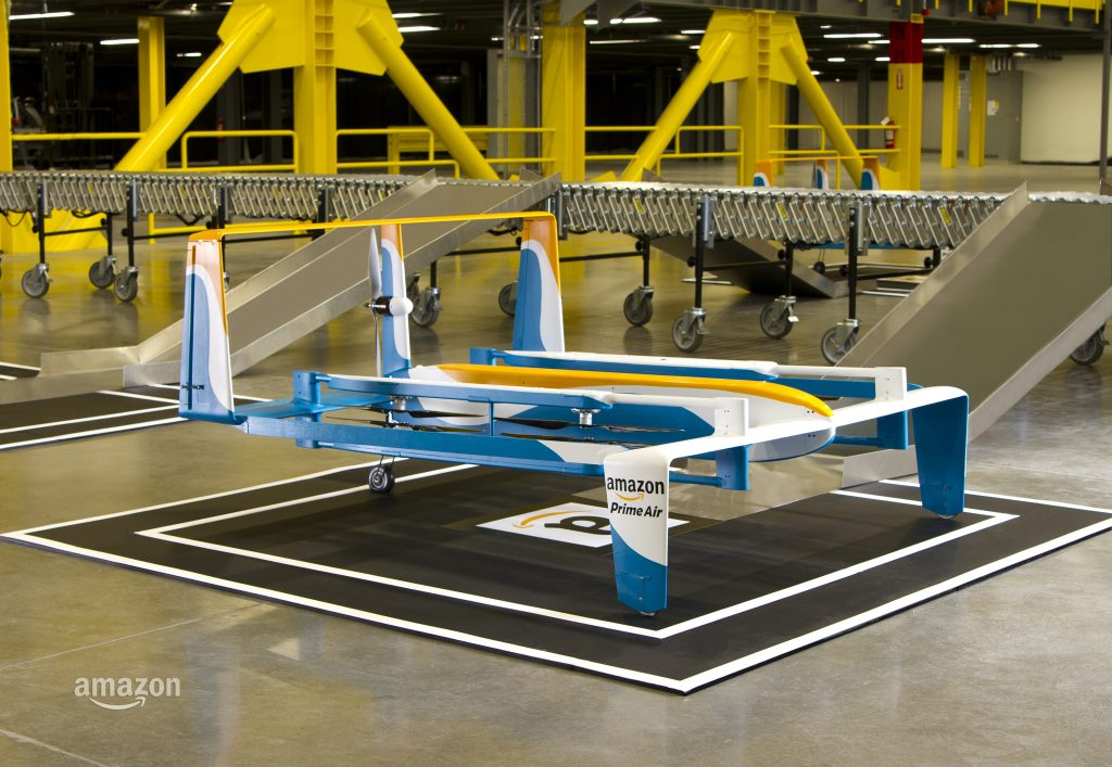 Drones from Amazon Prime. Let's keep them out of the skies please.