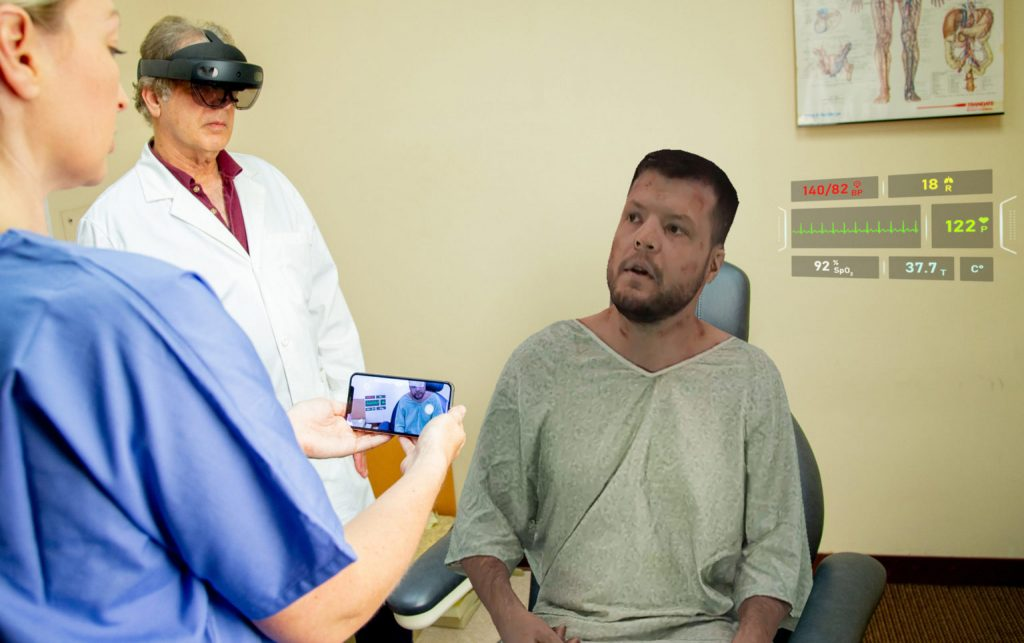 Holopatient Remote Uses AR Holograms For Hands-On Medical Training -