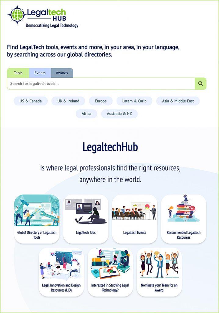 legaltechnology hub dot com