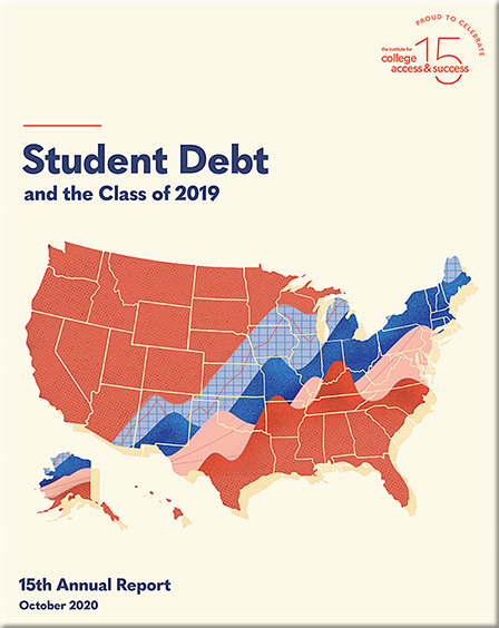 The Institute for College Access & Success (Ticas) has just released its annual report on what college graduates owe in student debt.