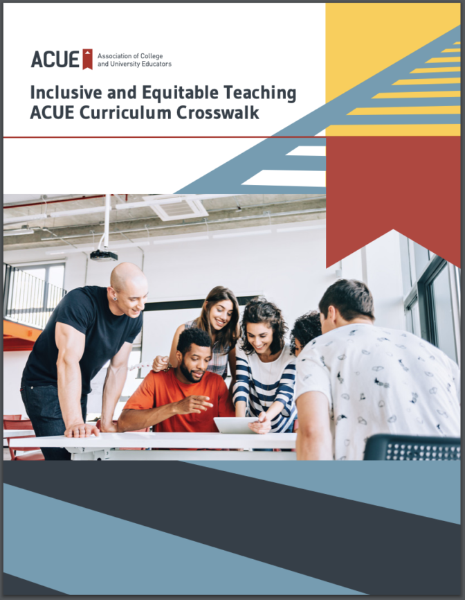 New Resource for Inclusive and Equitable Teaching