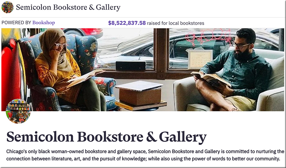 Semicolon Bookstore & Gallery: Chicago's only black woman-owned bookstore and gallery space