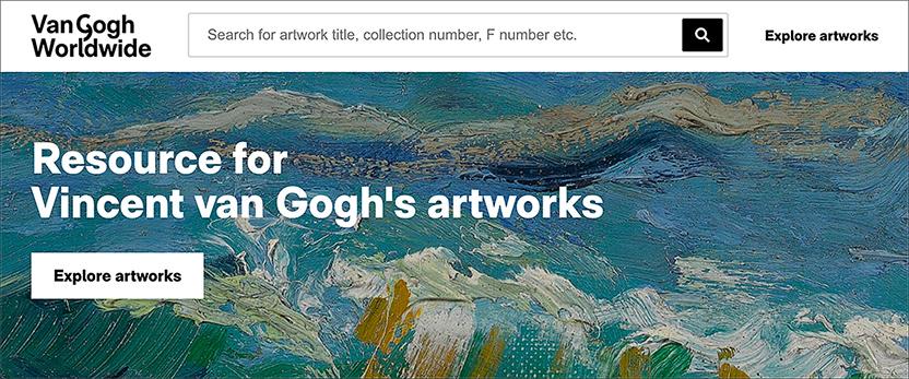 Van Gogh Worldwide dot org