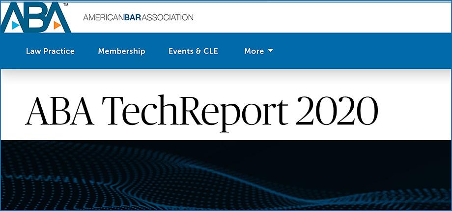 ABA TechReport 2020