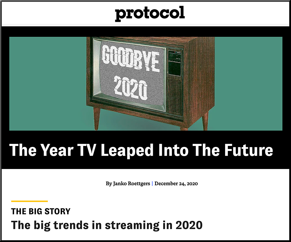 The Year TV Leaped Into The Future [Roettgers]