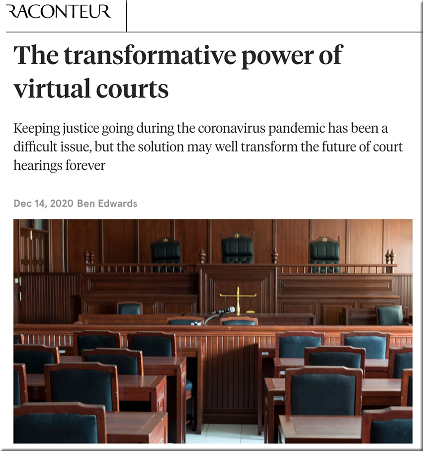 The transformative power of virtual courts