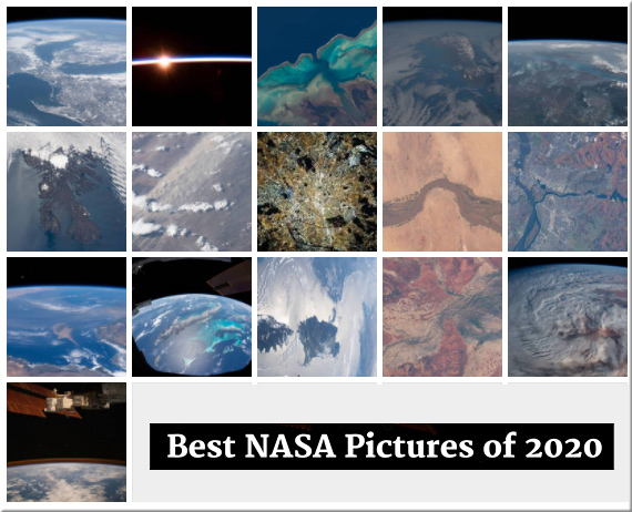 Best NASA Pictures of 2020
