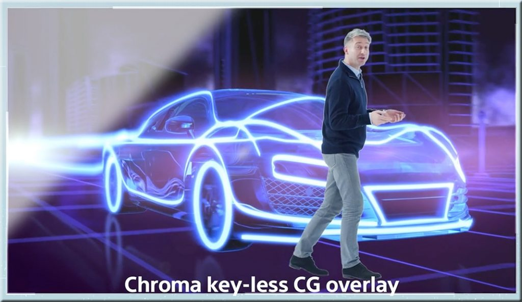Chroma keying hits the Active Learning Classroom as well
