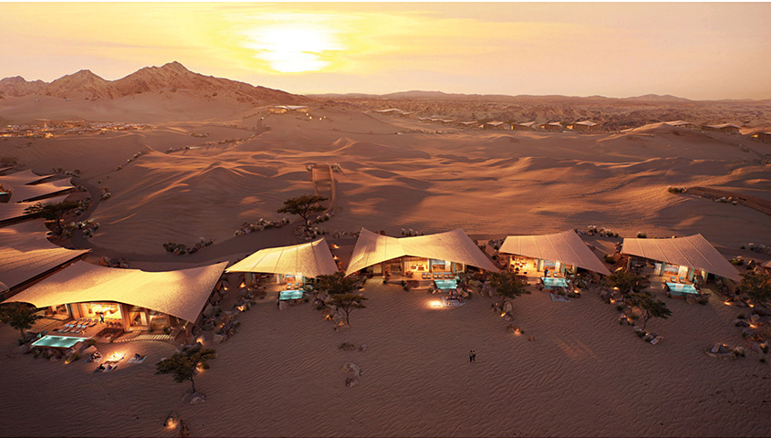 Foster Partners Southern Dunes Hotel in Saudi Arabia -- the Red Sea Project