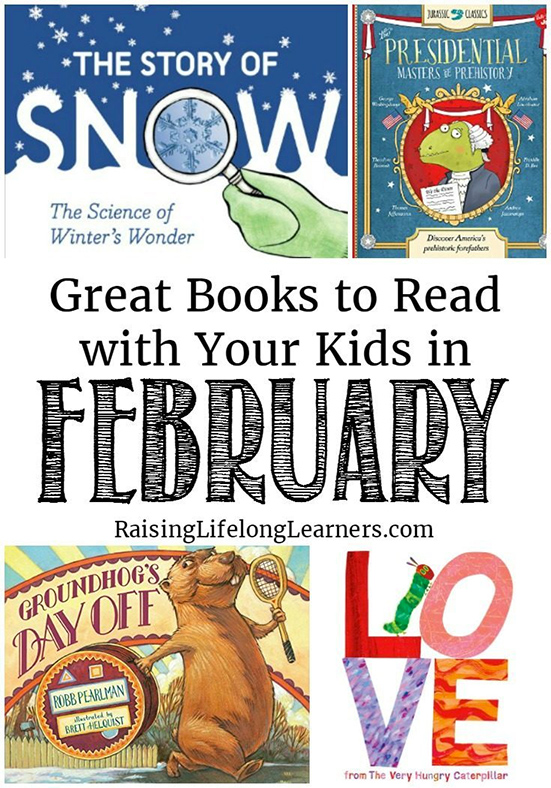 Great books to read with your kids in February -- from Colleen Kessler