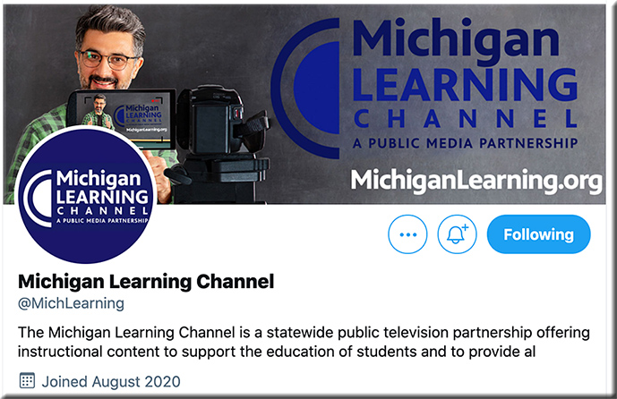 The MIchigan Learning Channel on Twitter