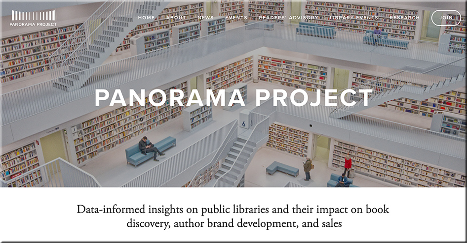 Panorama Project -- Data-informed insights on public libraries and their impact on book discovery, author brand development, and sales