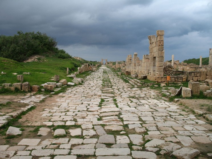 Picture of ancient road -- as part of an article entitled 16 Historical Roman Inventions That Helped Shape the Modern World