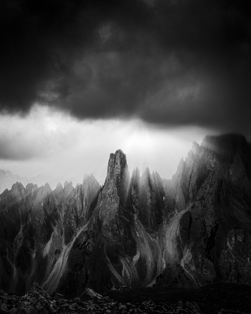 Dolomites in 50 Shades of Gray