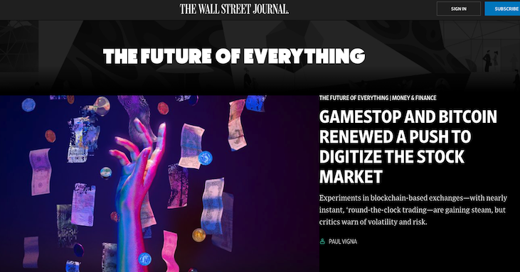 The future of everything -- from the Wall Street Journal
