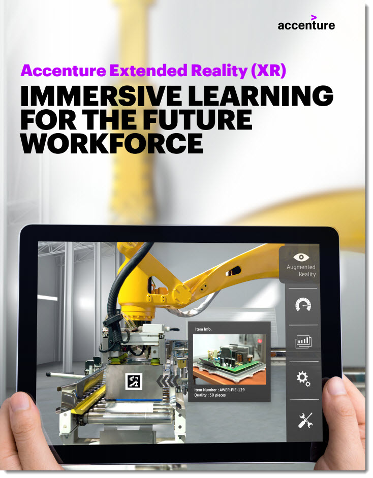 Accenture Extended Reality: Immersive learning for the future workforce