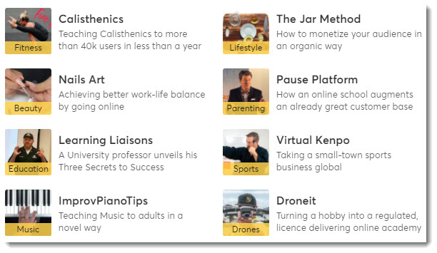 Learn Worlds dot com -- create and sell online courses from your own website