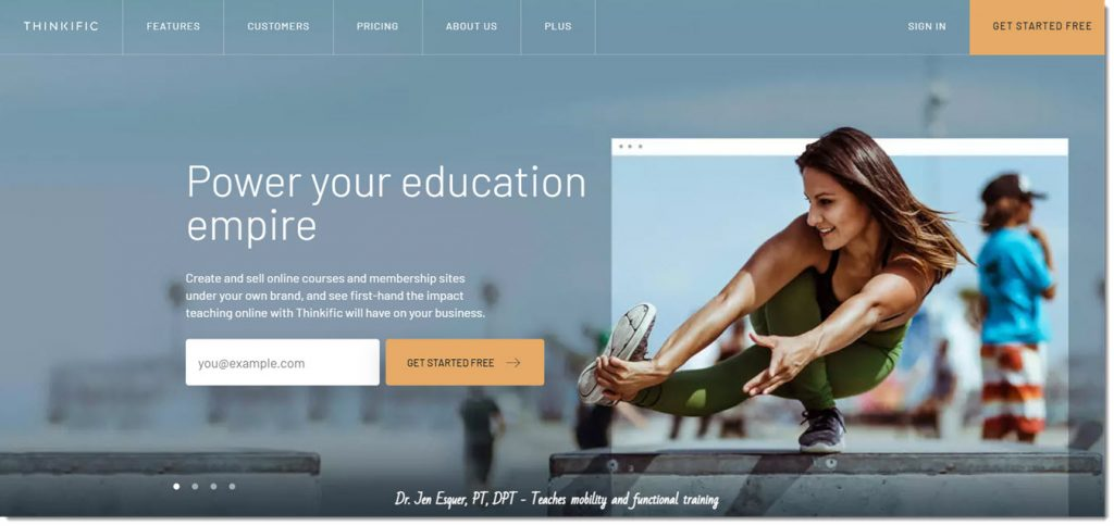 thinkific.com -- an online learning platform
