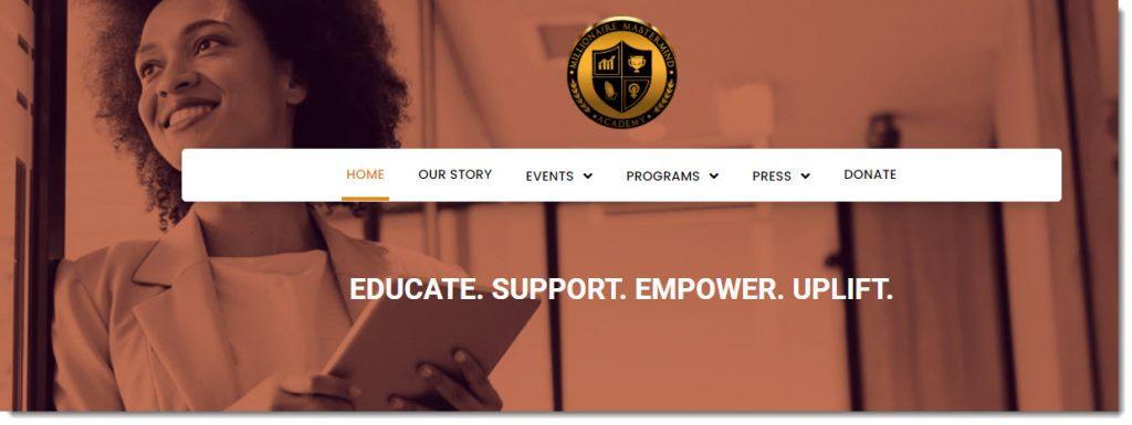 Millionaire Mastermind Academy dot org -- for minority women