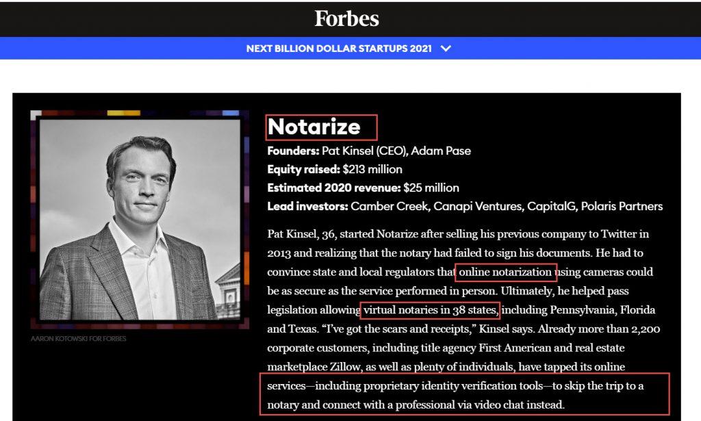 Notarize -- online notarization
