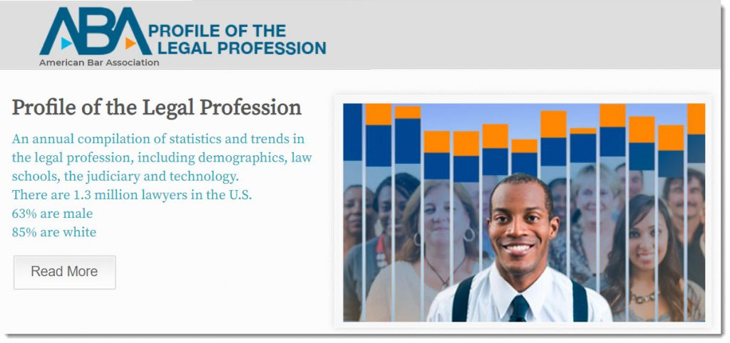 Profile of the legal profession -- from the American Bar Association