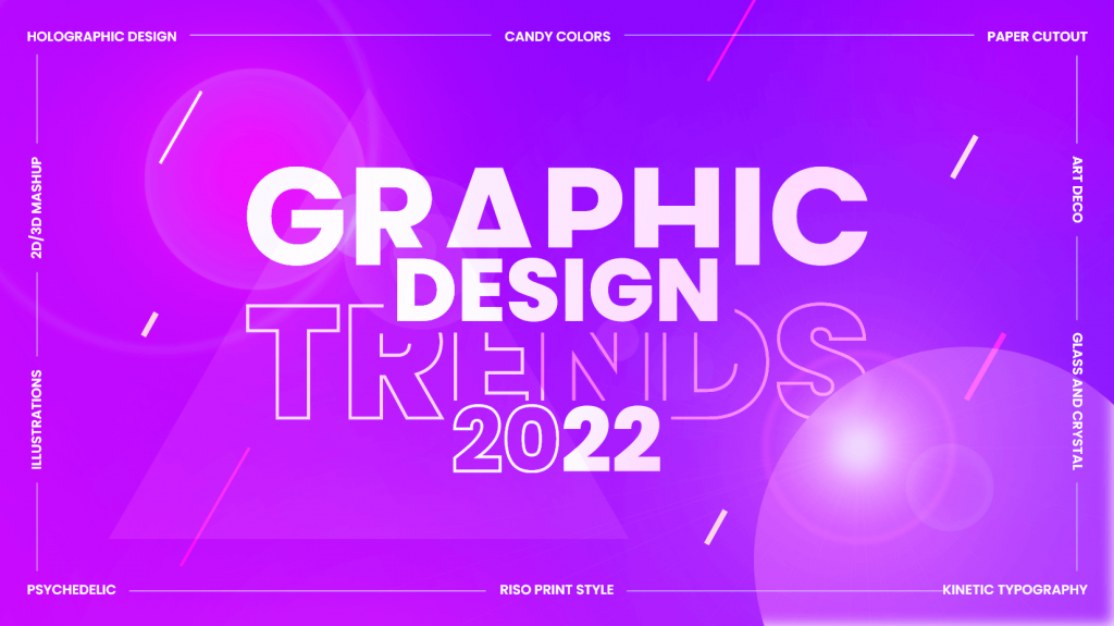 Graphic design trends for 2022